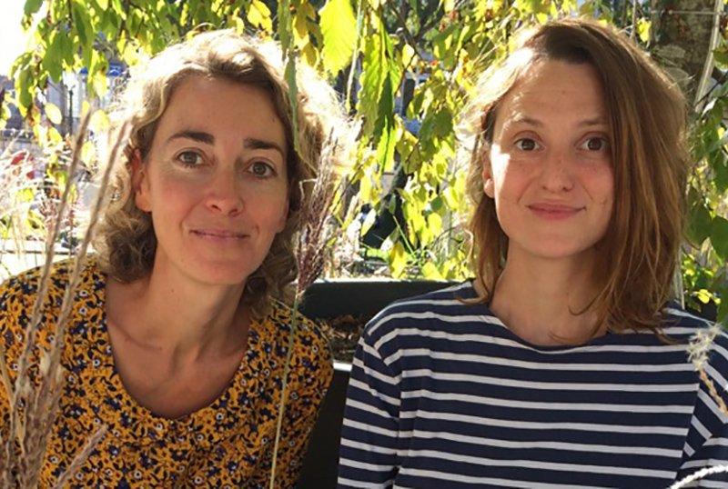 Anne et Raphaële